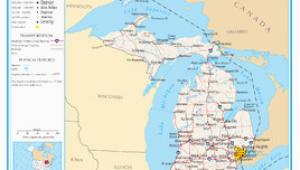 Map Of Lower Michigan Michigan Wikipedia