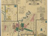 Map Of Luckenbach Texas Historic Maps Show What Downtown San Antonio Looked Like Back In