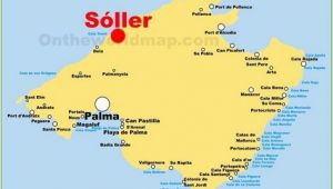 Map Of Majorca Spain Pinterest