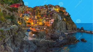 Map Of Manarola Italy Manarola Traditional Typical Italian Village In National Park Cinque