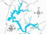 Map Of Marblehead Ohio Salt fork Lake Ohio Wood Laser Cut Map Salt fork Lake Ohio
