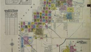 Map Of Marshall Michigan Map 1950 1959 Michigan Library Of Congress