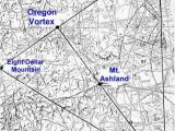 Map Of Mcminnville oregon Map Of oregon Laylines Ley Lines and Vortices Of the American West
