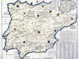 Map Of Medieval Spain Pin by Jl On Medieval Map Of Spain Spain History Iberian