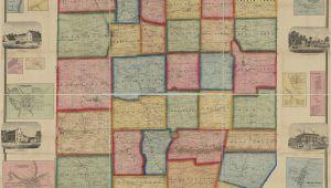 Map Of Mercer County Ohio Ancestor Tracks Mercer County