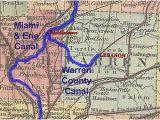 Map Of Miami County Ohio Historic Ohio Canals Revolvy