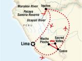 Map Of Michigan Adventure Amazon Riverboat Machu Picchu Adventure In Peru south America G