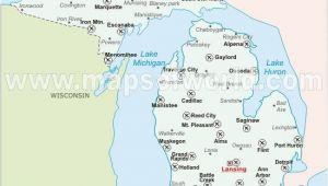 Map Of Michigan Airports Michigan Airports Travel and Culture Pinterest Michigan Lake
