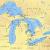 Map Of Michigan and the Great Lakes List Of Shipwrecks In the Great Lakes Wikipedia