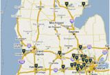 Map Of Michigan Colleges Maps Directions Michigan Medicine
