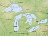 Map Of Michigan Great Lakes Us Map Great Lakes Region Lovely Map Of Great Lakes and Travel