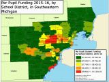 Map Of Michigan School Districts Michigan School District Map Fresh Education Ny County Map