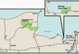 Map Of Michigan State Parks Camping Brimley State Parkmaps area Guide Shoreline Visitors Guide