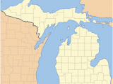 Map Of Michigan Upper Peninsula Cities List Of Counties In Michigan Wikipedia