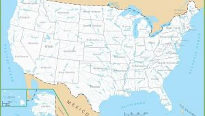 Map Of Michigan with Lakes United States Map Rivers Save Map the United States with Lakes Valid