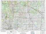 Map Of Midland Michigan Midland Map Etsy