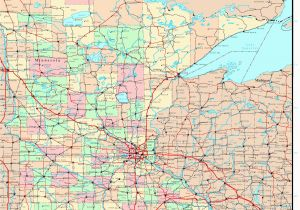 Map Of Minnesota Cities and Counties Mn County Maps with Cities and Travel Information Download Free Mn