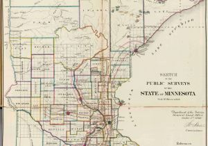 Map Of Minnesota Cities and Counties Old Historical City County and State Maps Of Minnesota