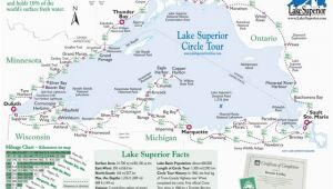 Map Of Minnesota Cities and Lakes Simple Map Of Lake Superior Lake Superior Magazine
