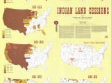 Map Of Minnesota Indian Reservations Indian Land Cessions Comparative Size American History Native