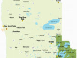 Map Of Minnesota Lakes and Rivers northwest Minnesota Explore Minnesota