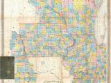 Map Of Minnesota Wisconsin Iowa and Illinois Old Map Iowa Stock Photos Old Map Iowa Stock Images Alamy