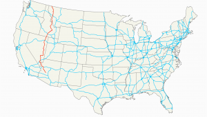 Map Of Montana and Canada U S Route 93 Wikipedia
