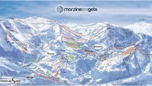 Map Of Morzine France Pistenplan Les Portes Du soleil Morzine Avoriaz Les Gets Cha Tel