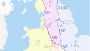 Map Of Motorways In England Controlled Access Highway Wikipedia