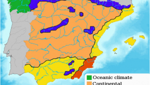 Map Of Mountains In Spain Green Spain Wikipedia