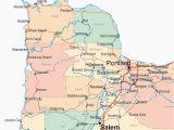Map Of Multnomah County oregon Portland oregon County Map Secretmuseum