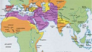 Map Of Muslim Spain islamic World In 1500 Maps Historical Maps islam Map