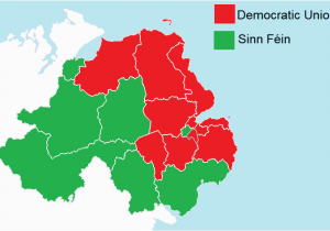 Map Of N Ireland File northern Ireland assembly Election Results by Constituency
