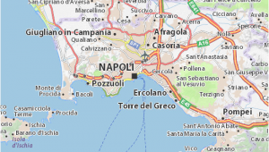 Map Of Naples Italy and Surrounding area Map Of Naples Michelin Naples Map Viamichelin