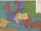 Map Of Napoleonic Europe Europe 1813 the Congress Of Frankfurt by Saluslibertatis On