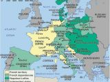 Map Of Napoleonic Europe In 1812 History Of France Britannica Com