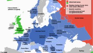 Map Of Nazi Occupied Europe German Occupied Europe Wikipedia World War Ii World