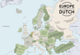 Map Of Netherlands and France Europe According to the Dutch Europe Map Europe Dutch People