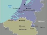 Map Of Netherlands Belgium and France Benelux Wikipedia