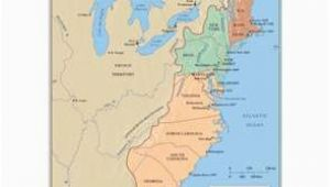 Map Of New England Middle and southern Colonies the First Thirteen States 1779 History Wall Maps Globes