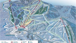 Map Of New England Ski Resorts the Best Ski Snowboard Resorts In Vermont Evo