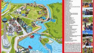 Map Of Niagra Falls Canada Niagara Map Niagara Falls In 2019 Visiting Niagara Falls