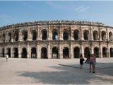 Map Of Nimes France Die Gut Erhaltene Und Besucheneswerte arena Von Nimes
