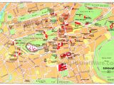 Map Of Nimes France Map Of Edinburgh attractions Planetware Printable Travel