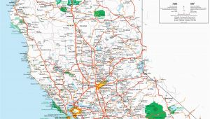 Map Of north California Cities Map Of northern California