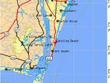 Map Of north Carolina Coast Beaches north Carolina East Coast Map Bnhspine Com