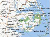 Map Of north Carolina Coastal towns north Carolina East Coast Map Bnhspine Com