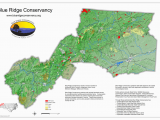 Map Of north Carolina State Parks Protected areas Blue Ridge Conservancy