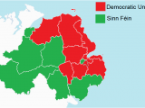 Map Of north Ireland File northern Ireland assembly Election Results by Constituency