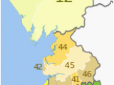 Map Of north West Of England north West England Wikipedia